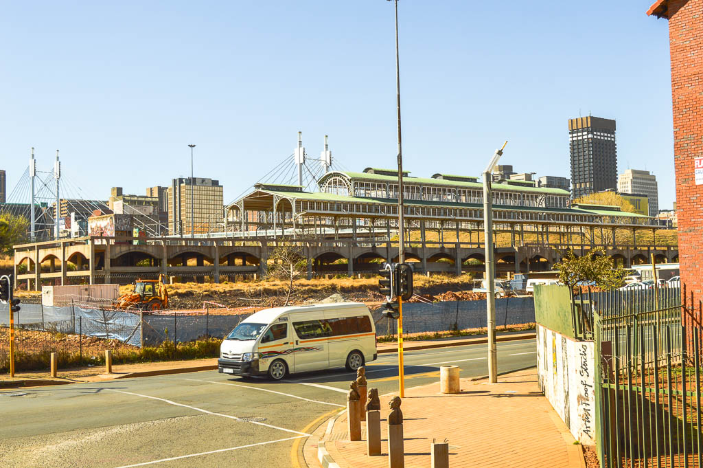 Another view of the Old Johannesburg Railway Station