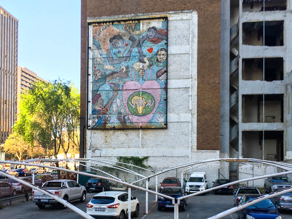 Another Mural in Downtown JHB