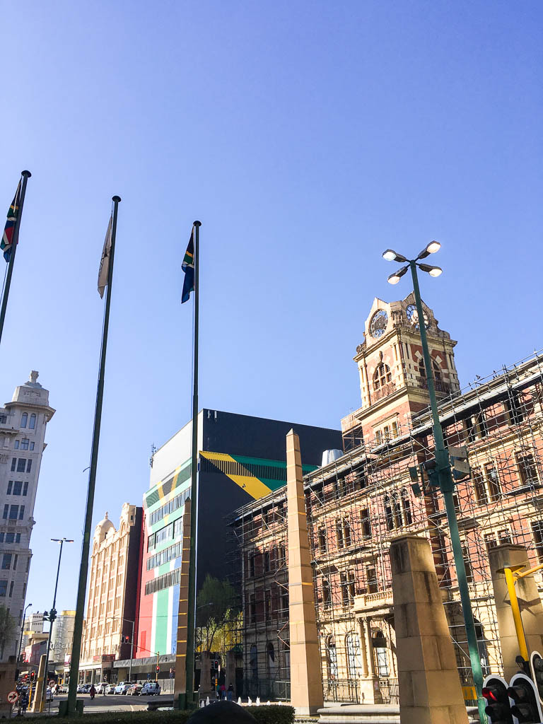 The old and the new in Jozi