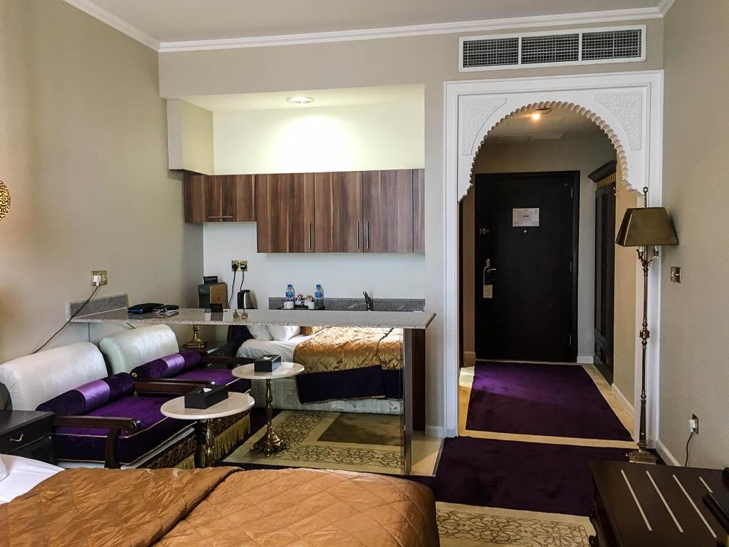 deluxe room at the SARAYA CORNICHE HOTEL, DOHA QATAR