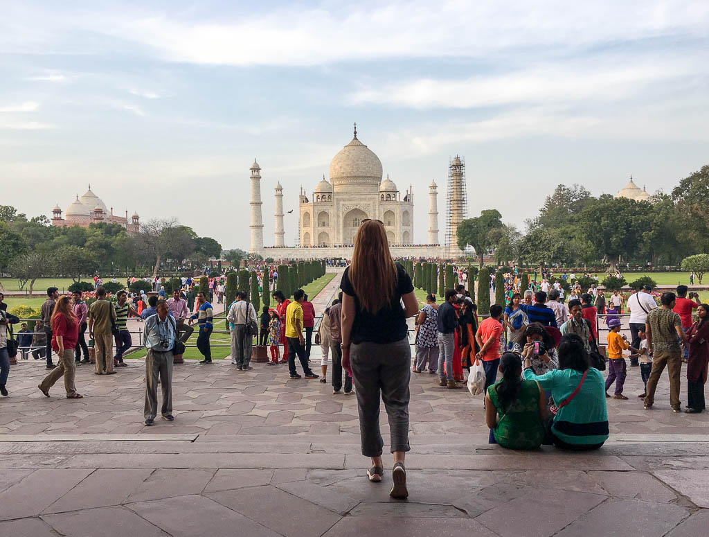 WHAT TIME OF DAY TO VISIT THE TAJ MAHAL