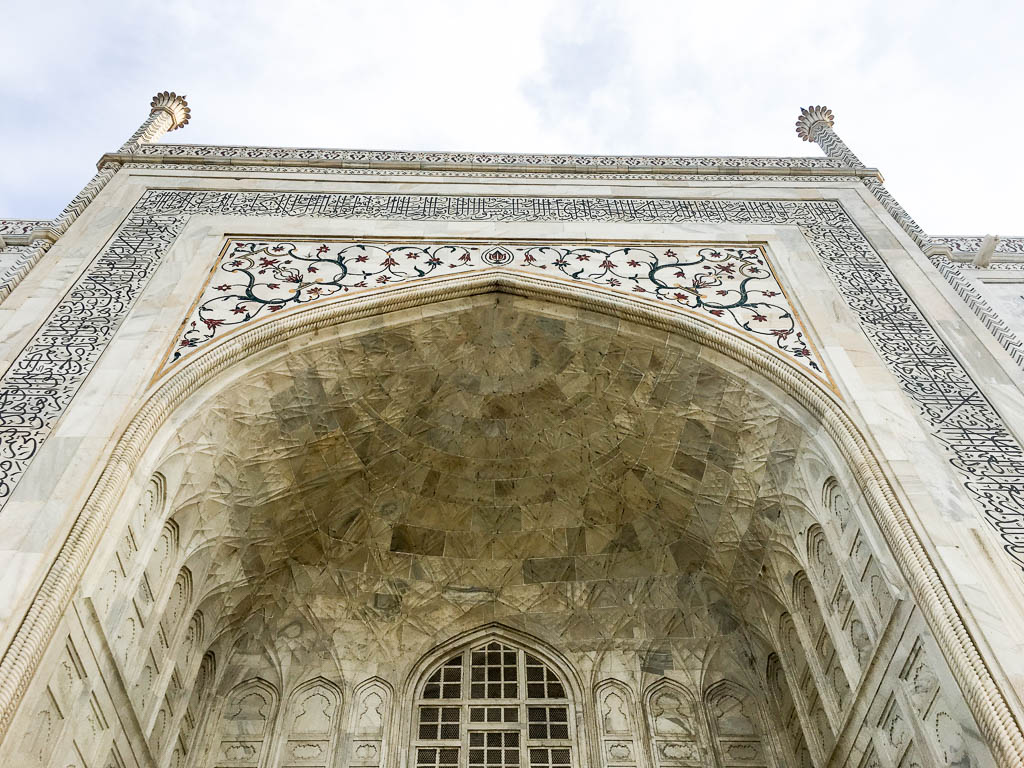 VISITING THE TAJ MAHAL TIPS AND GUIDE: BEAUTIFUL CARVING AND STONE WORK