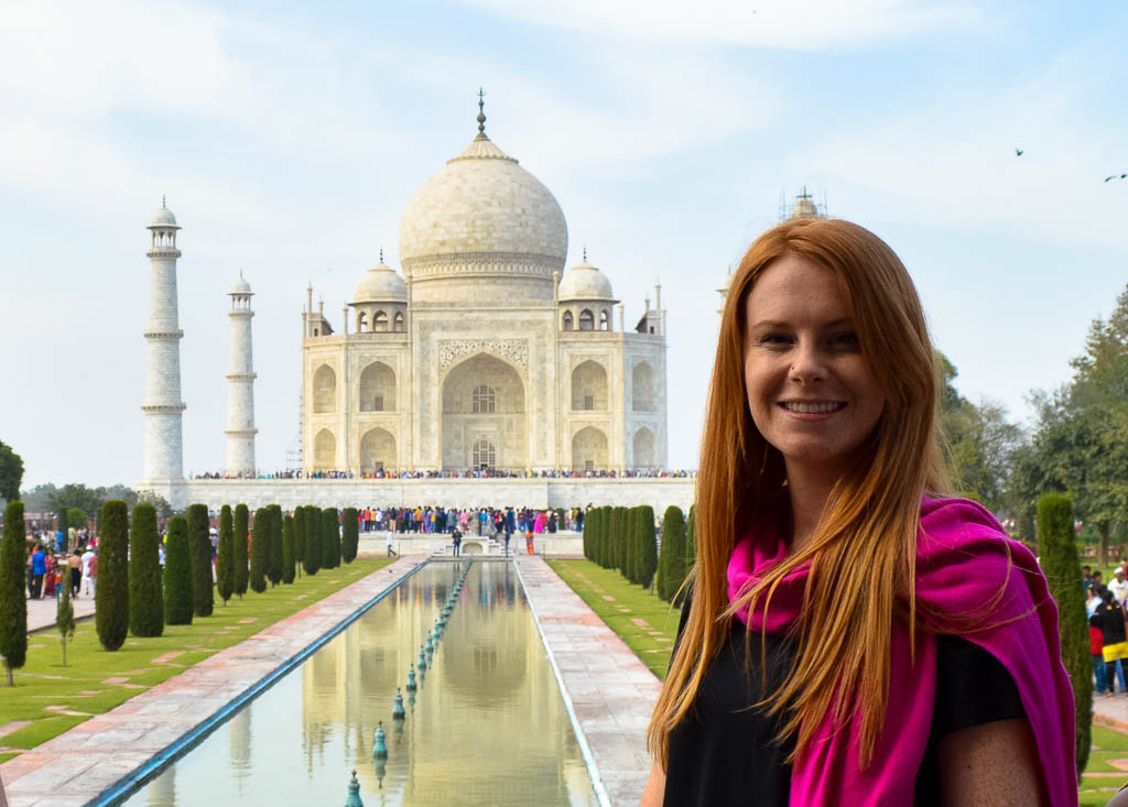 THE TRAVELING GINGER AND THE TAJ MAHAL