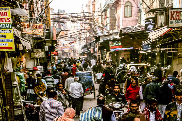 chandni chowk market in india photo from staesha rath