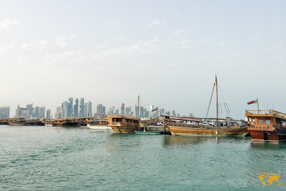 VISIT QATAR ON A LAYOVER AND RIDE A DHOWBOAT
