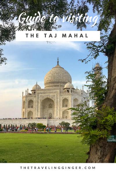 guide and tips for visiting taj mahal india
