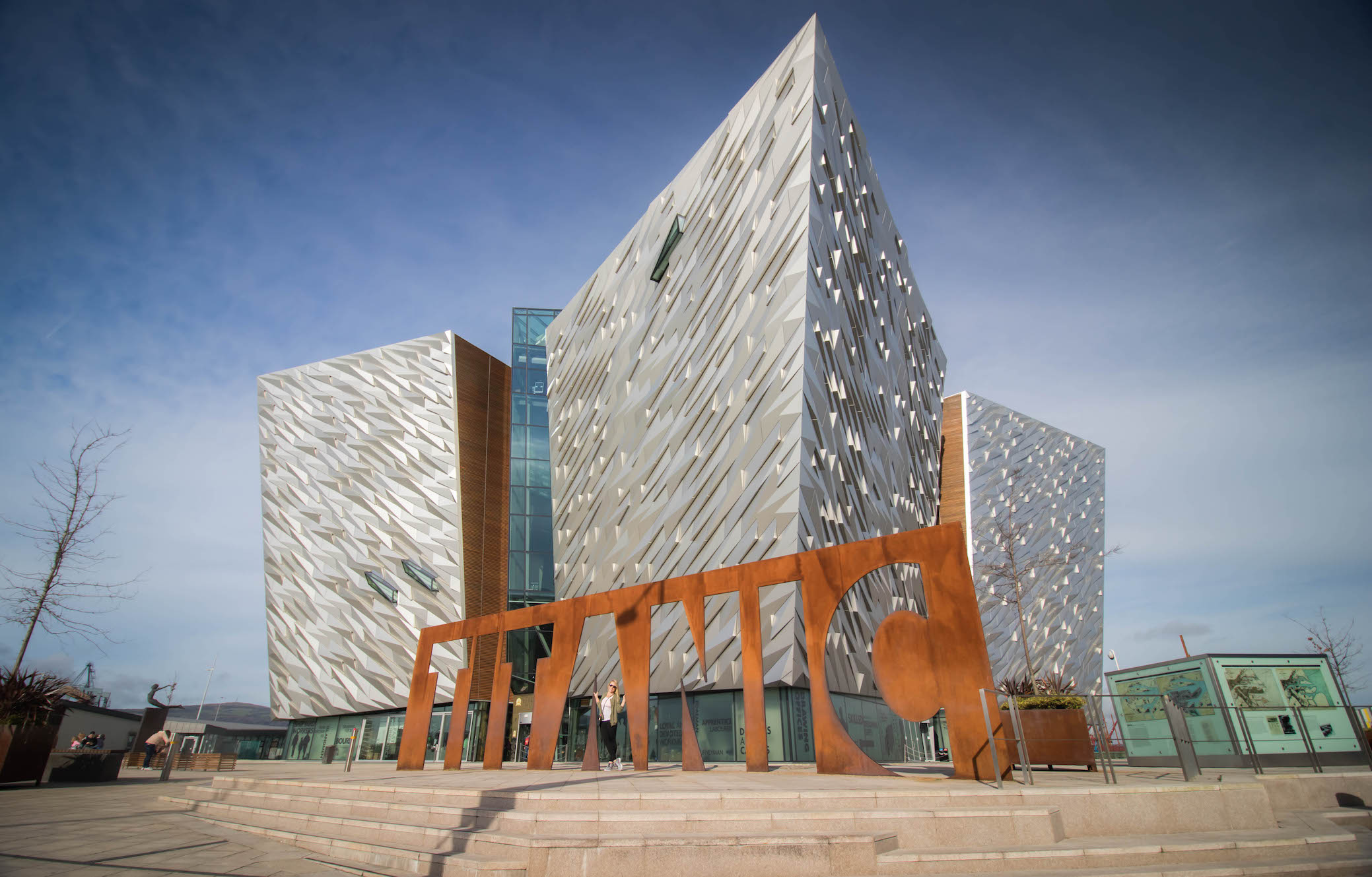 THINGS TO DO IN NORTHERN IRELAND: THE TITANIC MUSEUM, BELFAST