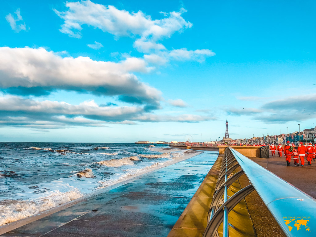 what to do in blackpool: blackpool promenade