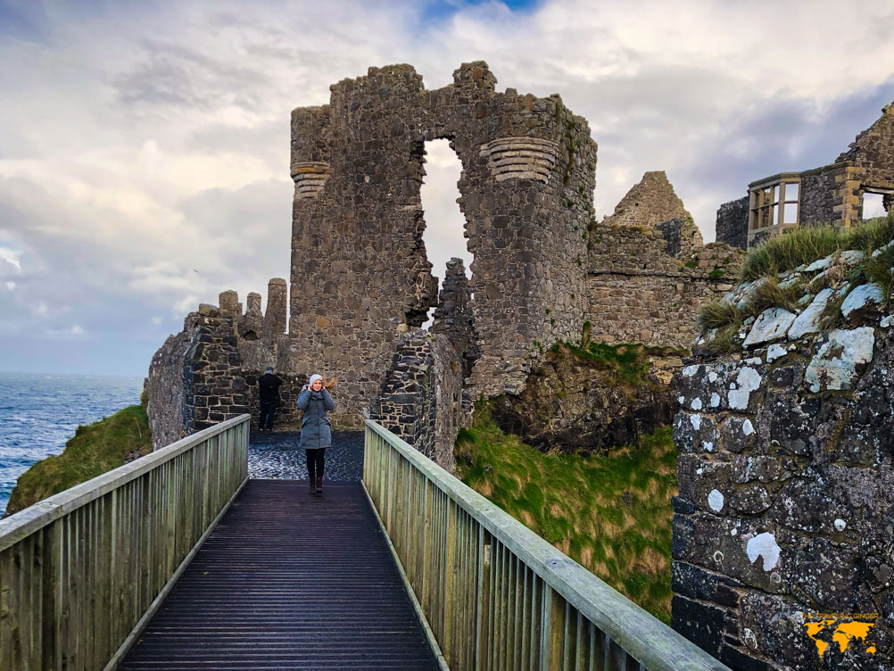 WHAT TO DO IN NORTHERN IRELAND: DUNLUCE CASTLE