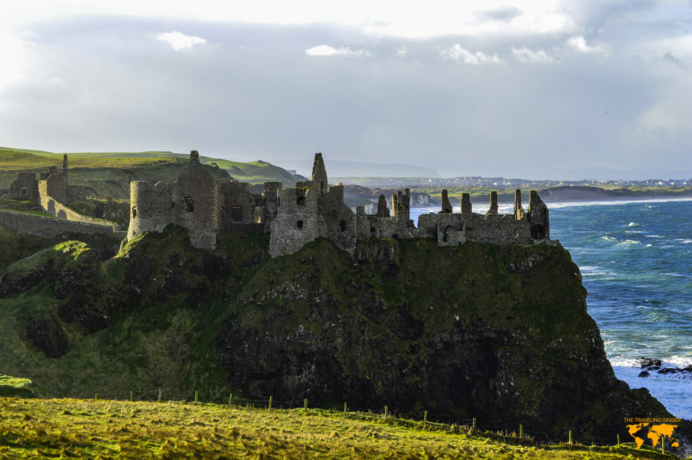THINGS TO DO IN NORTHERN IRELAND: DUNLUCE CASTLE