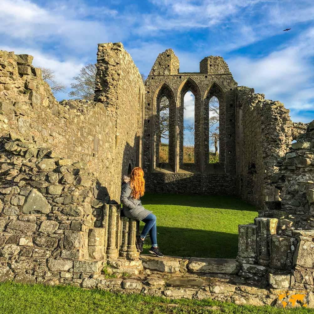 GAME OF THRONES FILMING LOCATION NORTHERN IRELAND INCH ABBEY