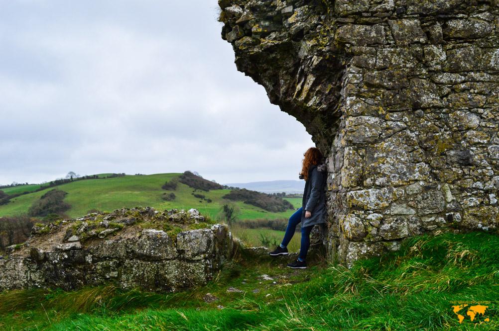 EXPLORING THE ROCK OF DUNAMASE, IRELAND