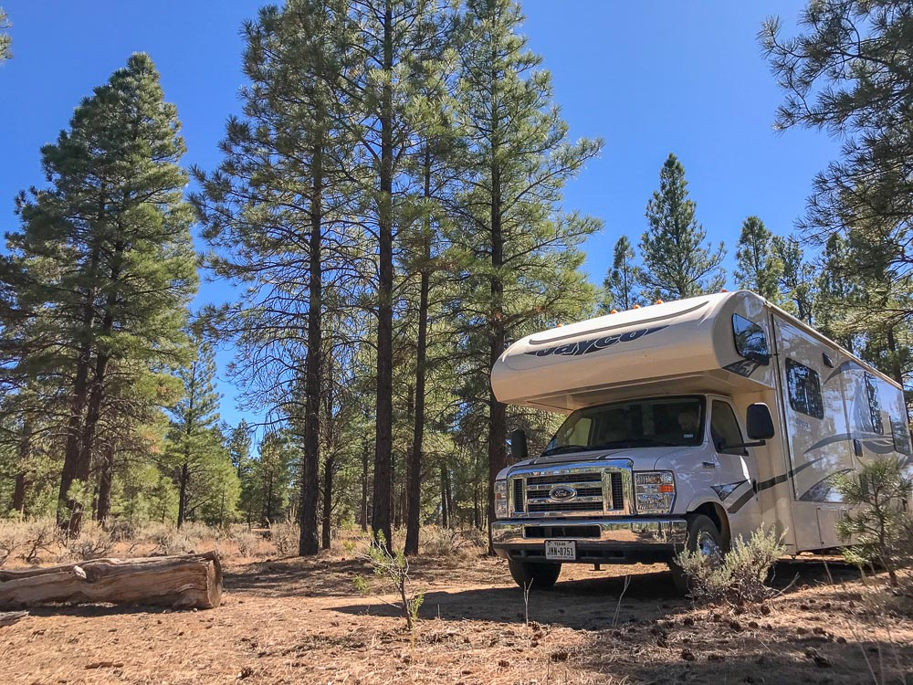 things to do in Arizona - camping in the grand canyon