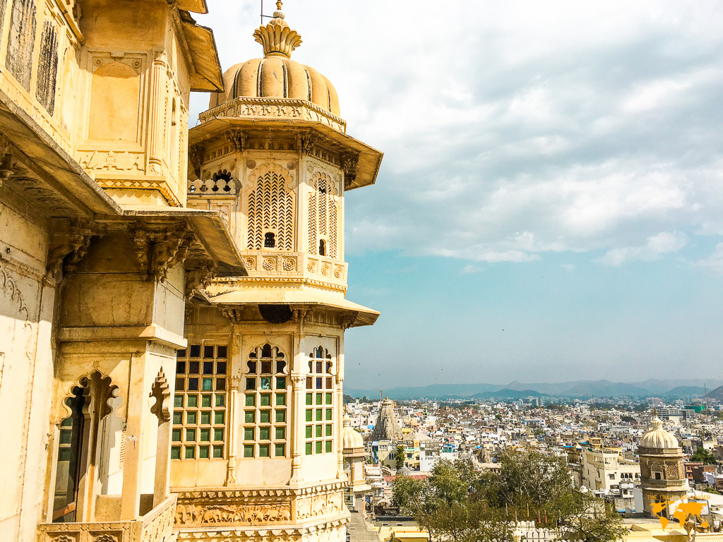 CITY PALACE IN UDAIPUR INDIA
