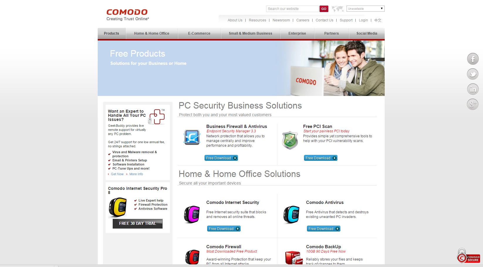 Comodo Antivirus offers Free Antivirus