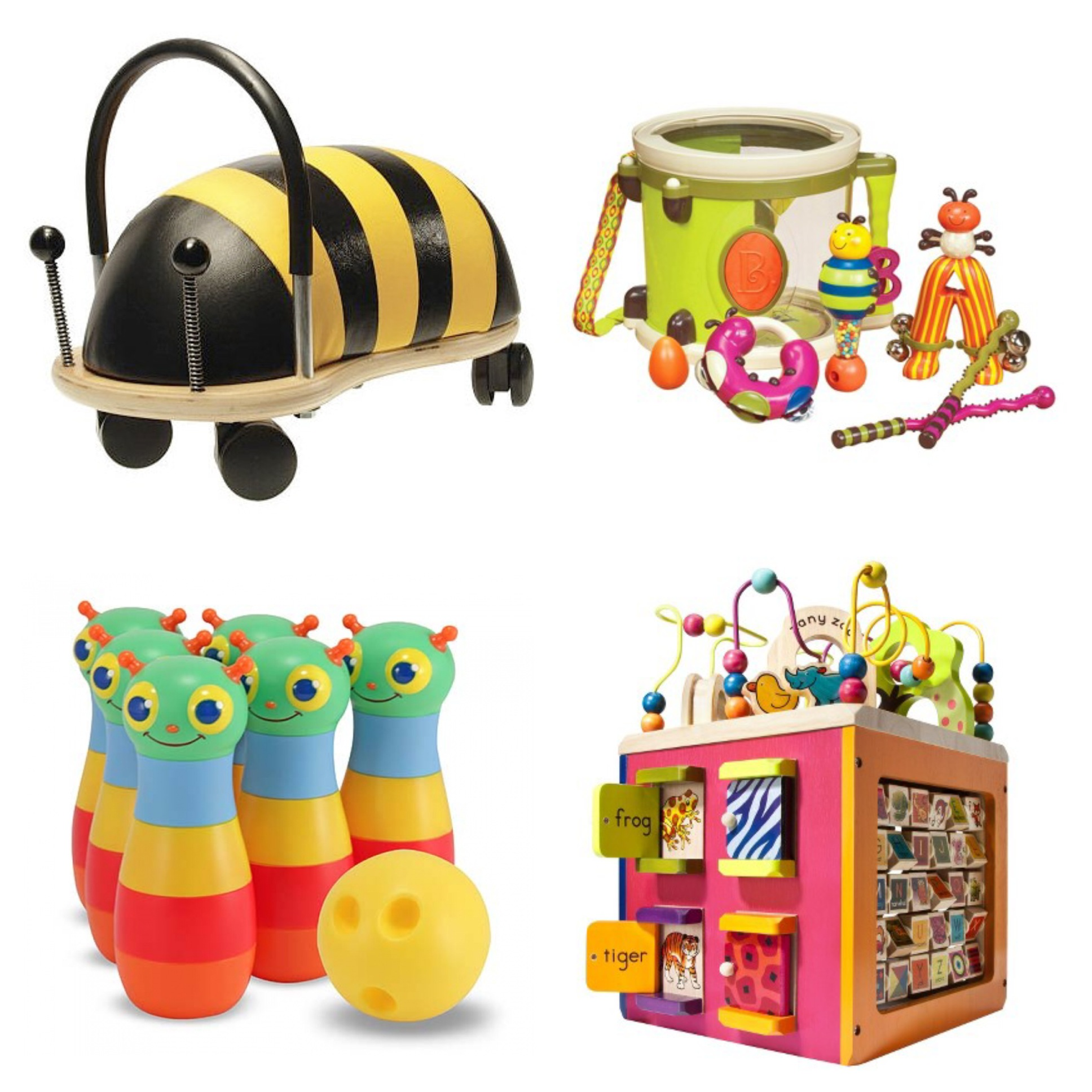 B. Toys & Prince Lionheart Wheely Bug