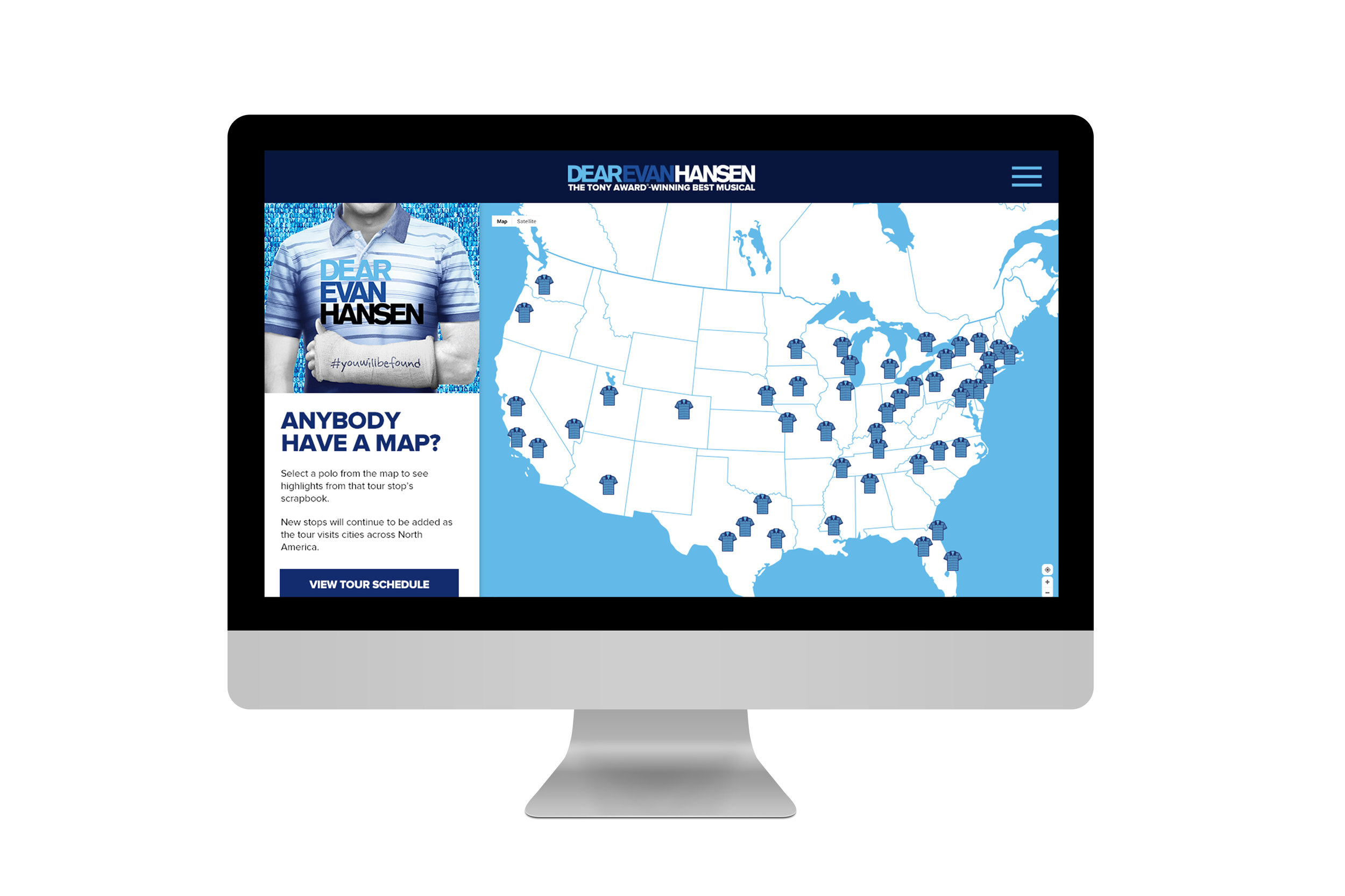 Interactive Polo Map
