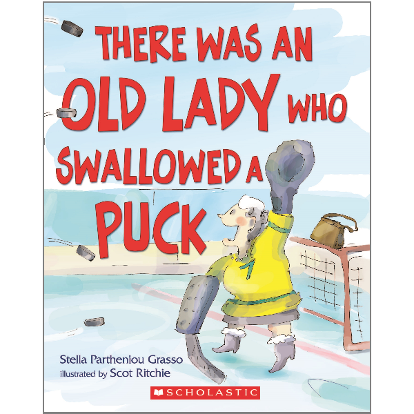 There Was an Old Lady Who Swallowed a Puck