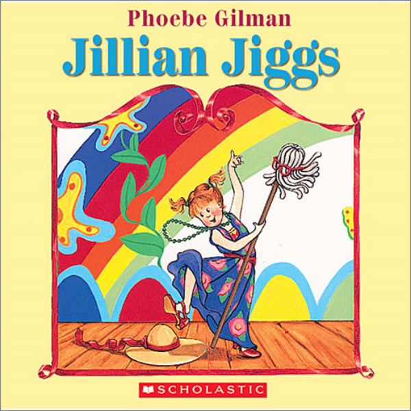 Jillian Jiggs  by Phoebe Gilman is the first book in a series that includes:    The Wonderful Pigs of Jillian Jiggs Jillian Jiggs to the Rescue Jillian Jiggs and the Secret Surprise   and  Jillian Jiggs and the Great Big Snow   They're all great books but the original  Jillian Jiggs  is the one we still quote randomly around the house.