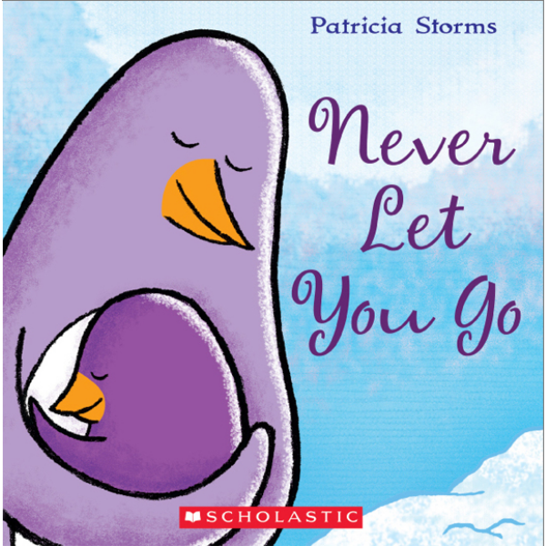 Never Let You Go  by Patricia Storms is one of the sweetest parent and child picture books I've ever read. The art is funny and beautiful. I still can't get over how Patricia depicted the night sky with the Aurora Australis in full show.