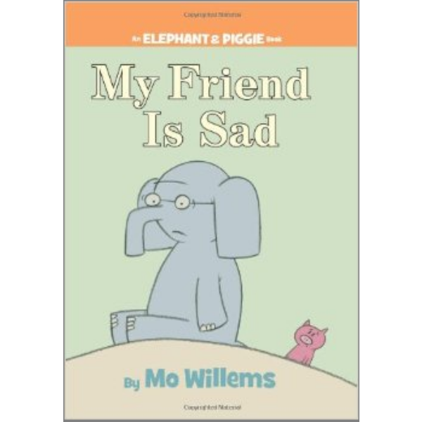 Mo Willems' books crack me up. Whether I'm reading   The Pigeon Finds a Hot Dog!   or the endearing Elephant and Piggie series I can't help but get into the story. His characters are real, well, characters. I love them and the antics they get up to.