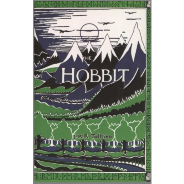 The Hobbit  by J.R.R. Tolkien was the first true fantasy book I had ever heard of. My grade six teacher read it to the class and I was hooked from page one.   I re-read it years later as a grown-up and loved it so much I read  The Lord of the Rings  trilogy as well.   I've recently shared the book with my own kids and it was just as much fun reading it to them as it was the first time I had it read to me.