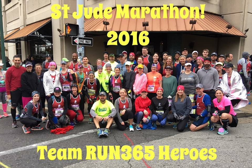 RUN365 Loves St Jude Children's Research Hospital and raising money for great causes!