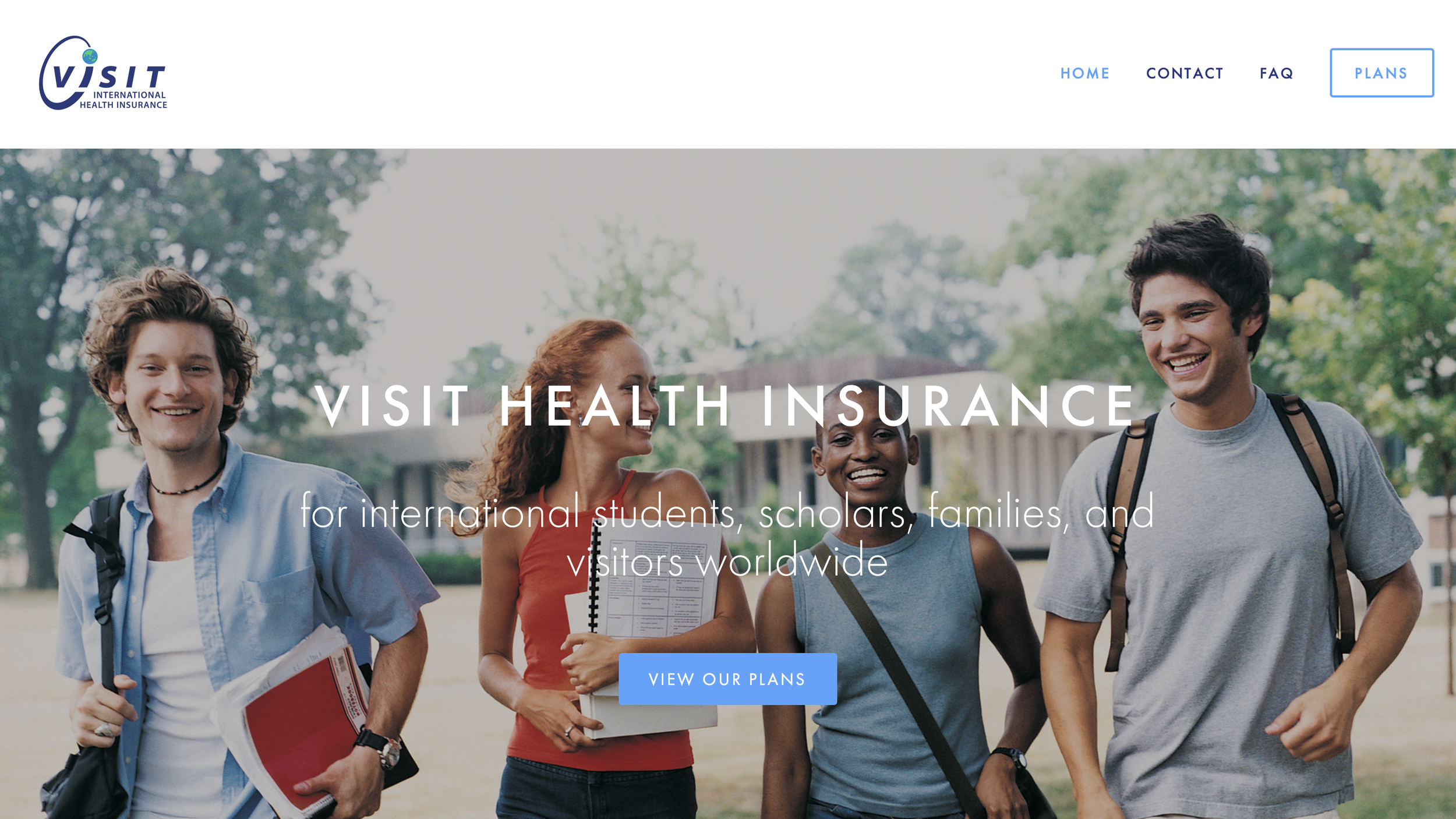VISIT Health Insurance Website