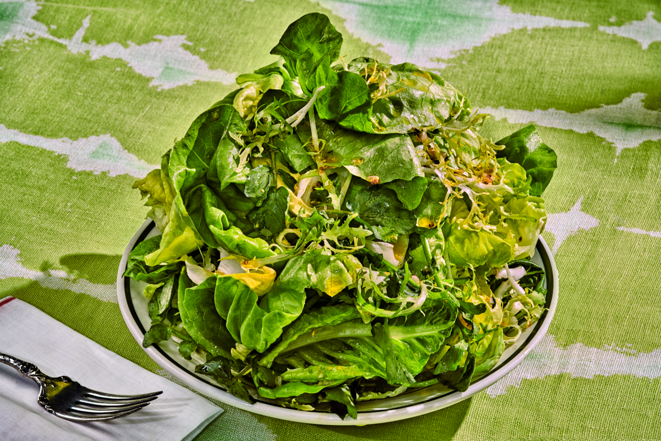 NEW YORK TIMES  May 11, 2019   The Best Green Salad in the World