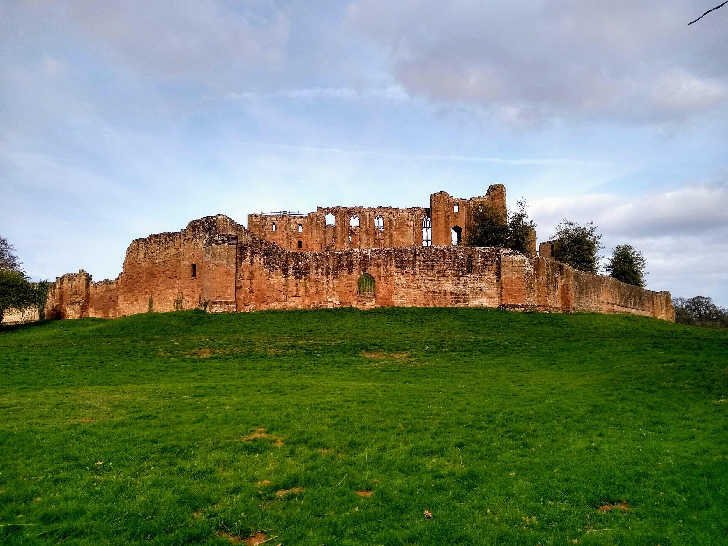 Kenilworth Castle near University of Warwick