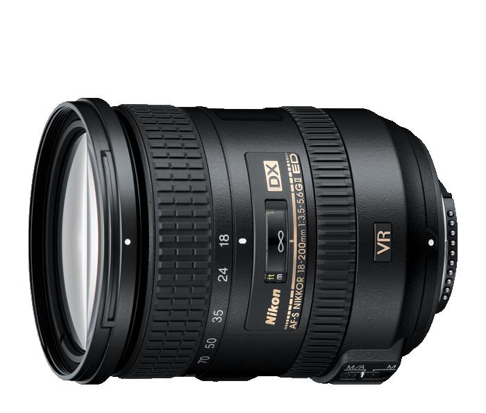 Nikon 18-200mm dx