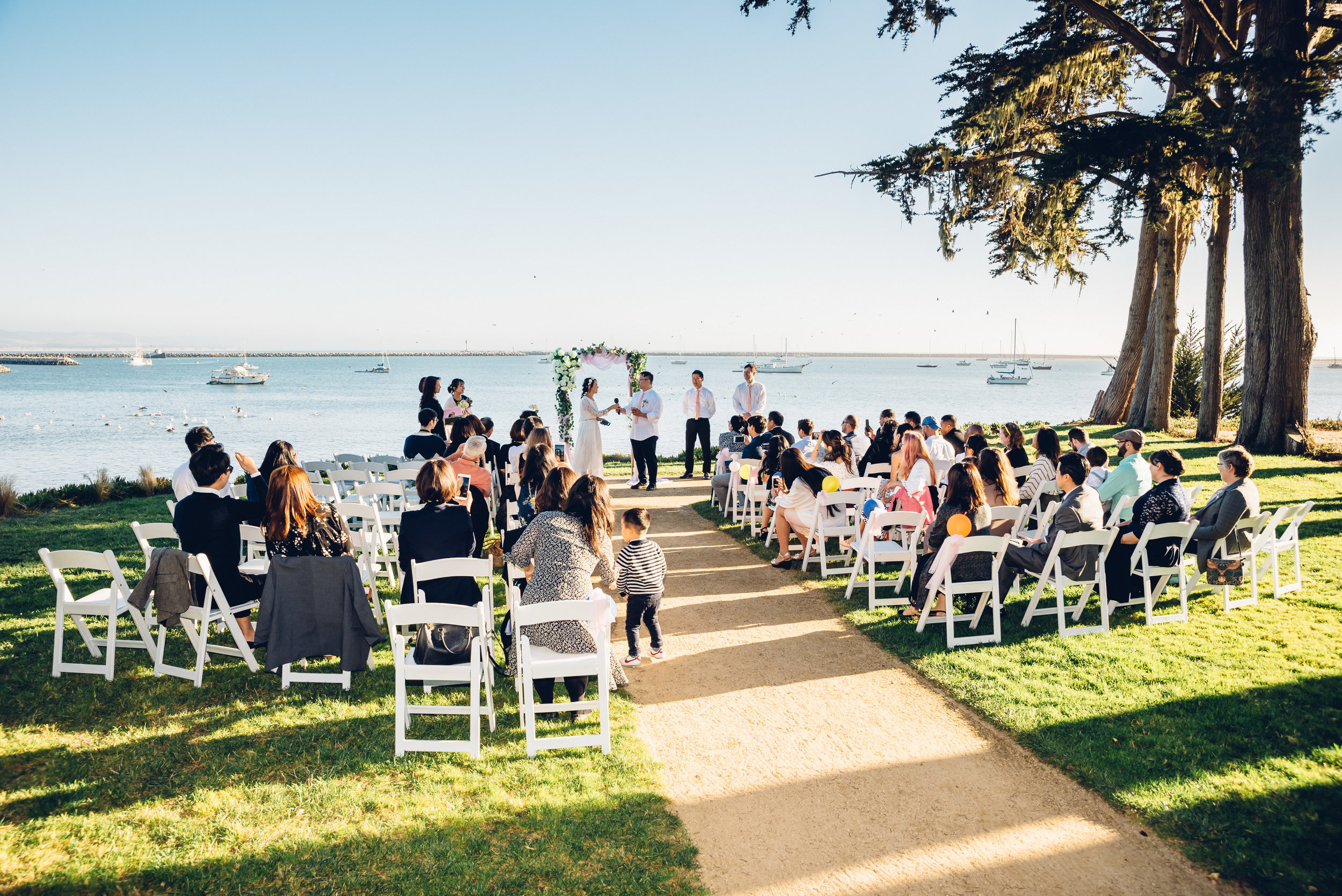 Kristy & Charles - Wedding in Half Moon Bay, CA