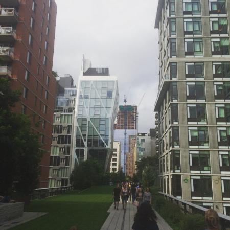Snapshot while walking on the Highline