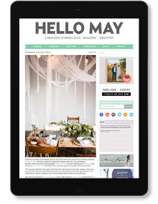 Sydney wedding and event styling
