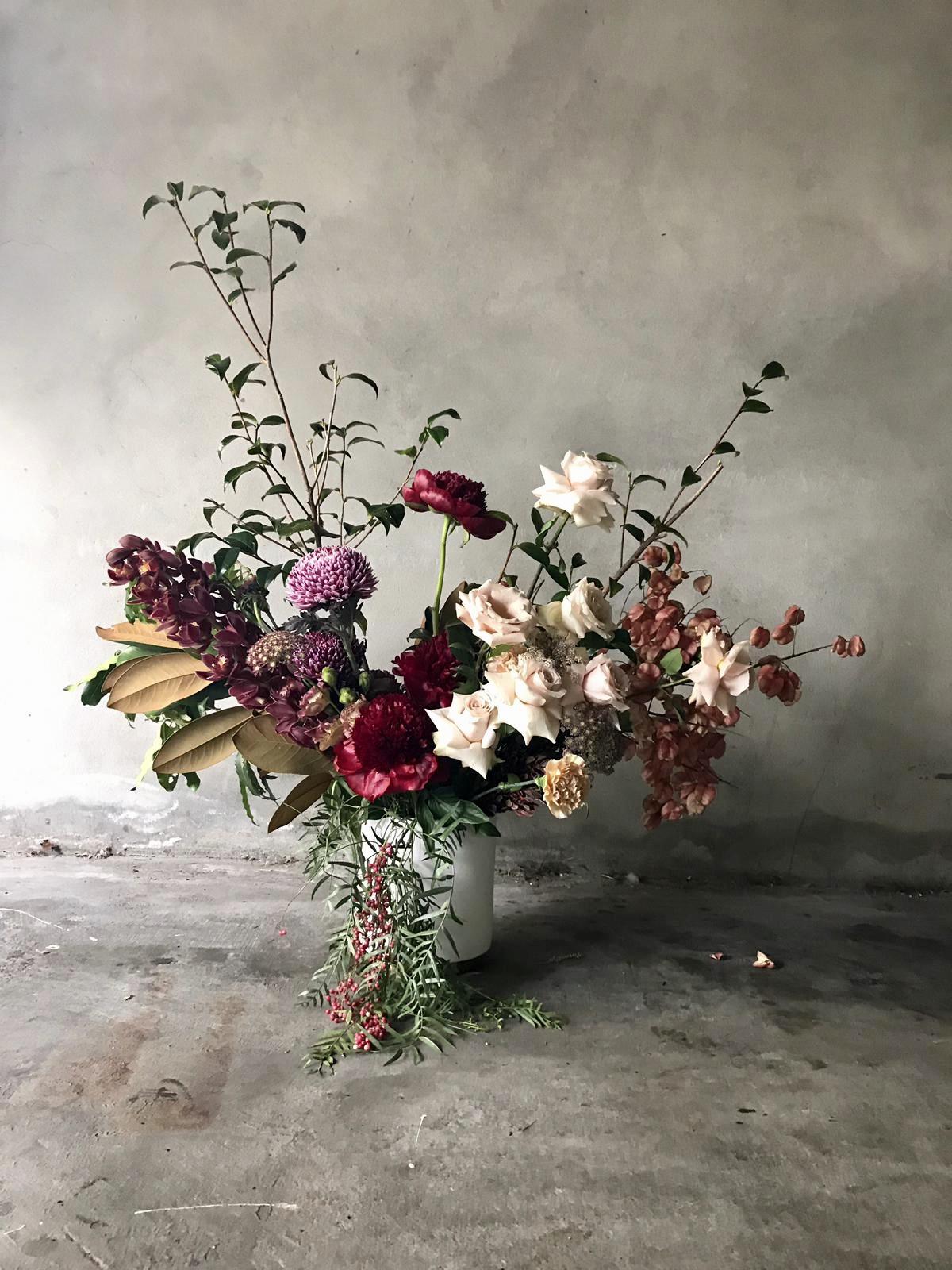 George & Smee wedding flowers
