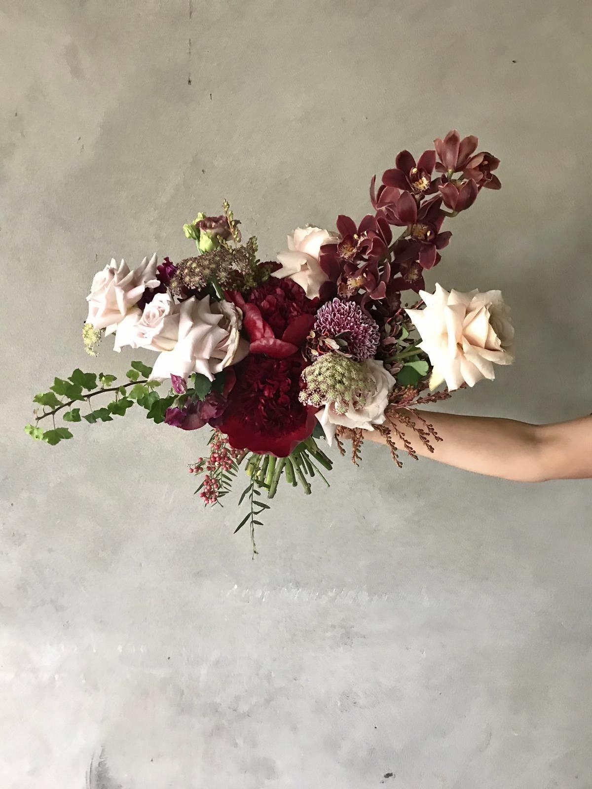 George & Smee bouquet wedding