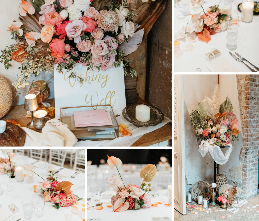 George & Smee reception and table styling