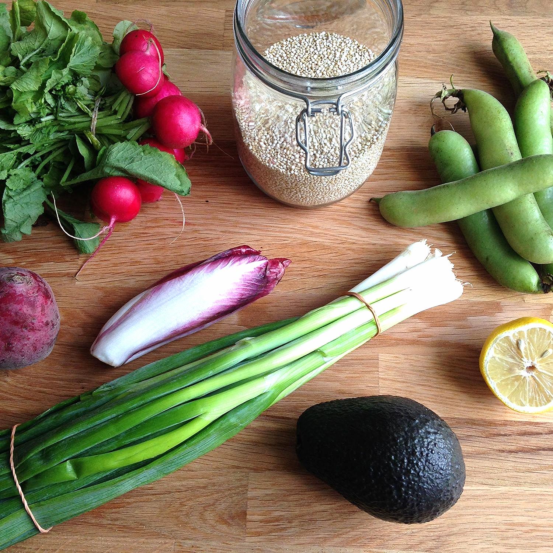 Technicolour super salad ingredients