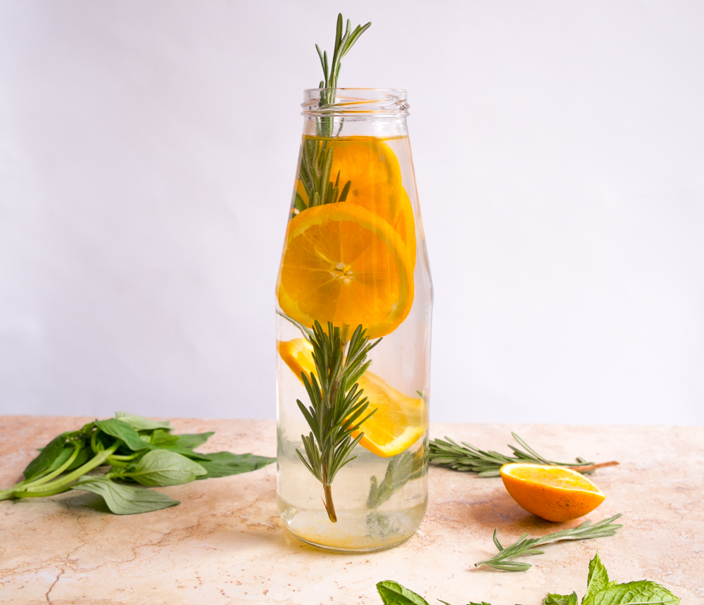 Quench - orange and rosemary