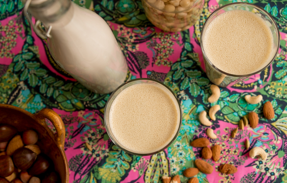 Nut milk 2 ways