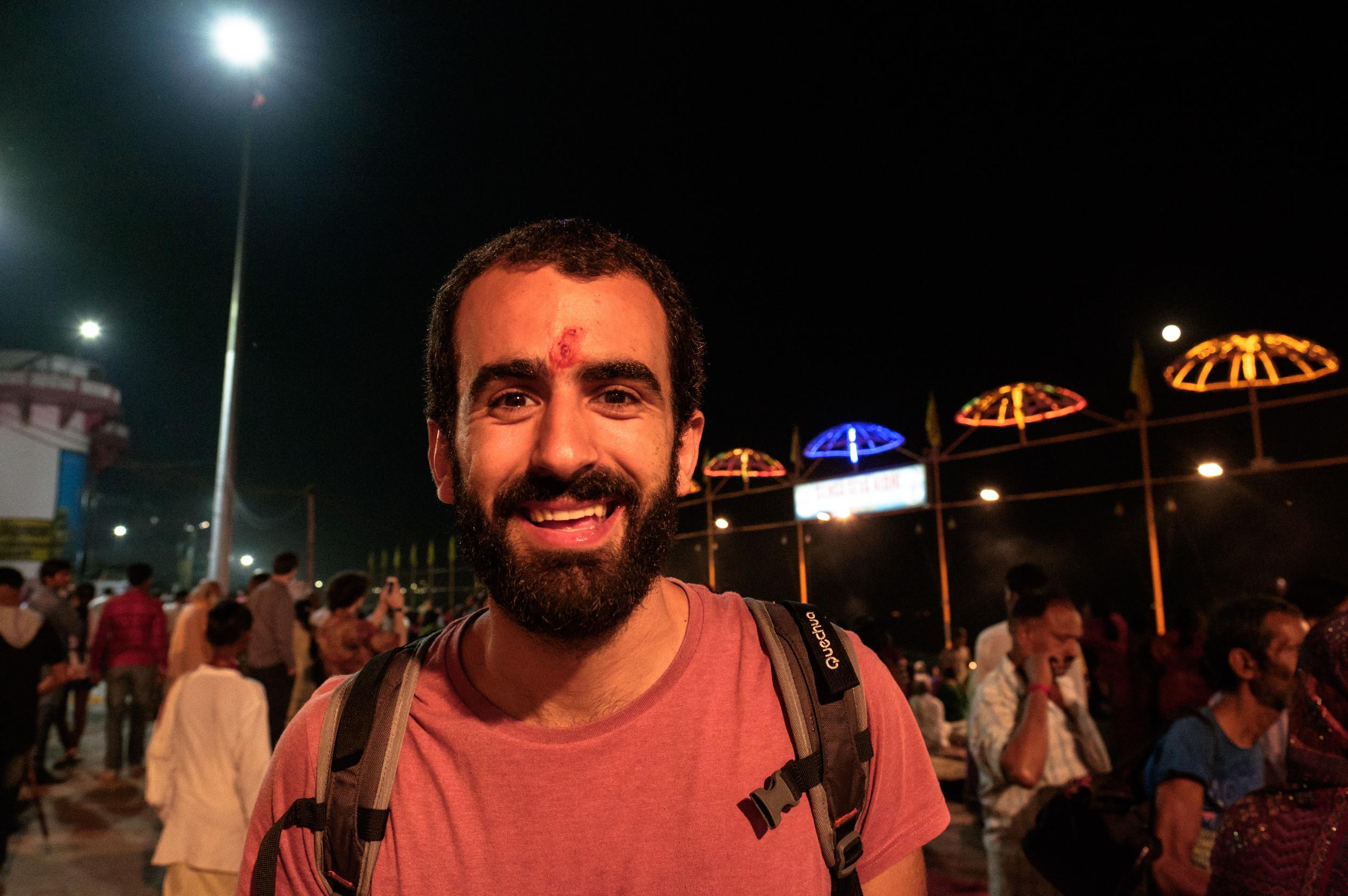 In the holy city of Varanasi