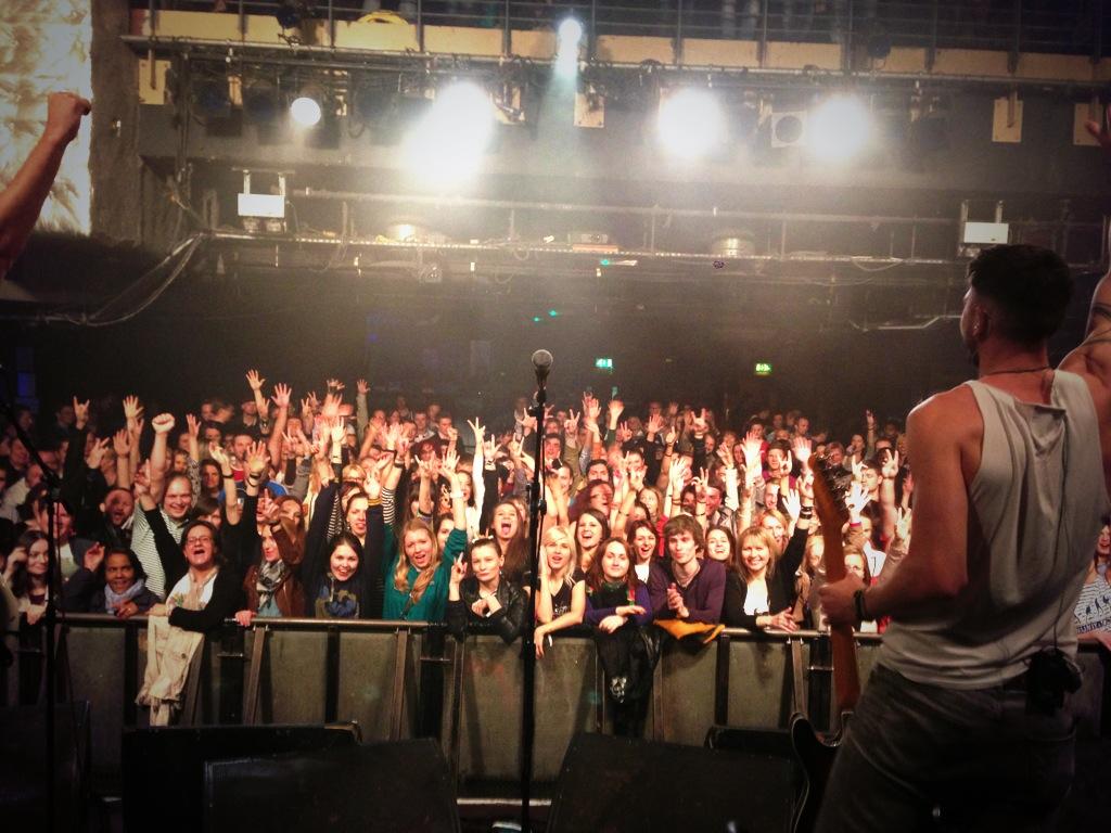 O2 Academy Islington crowd shot