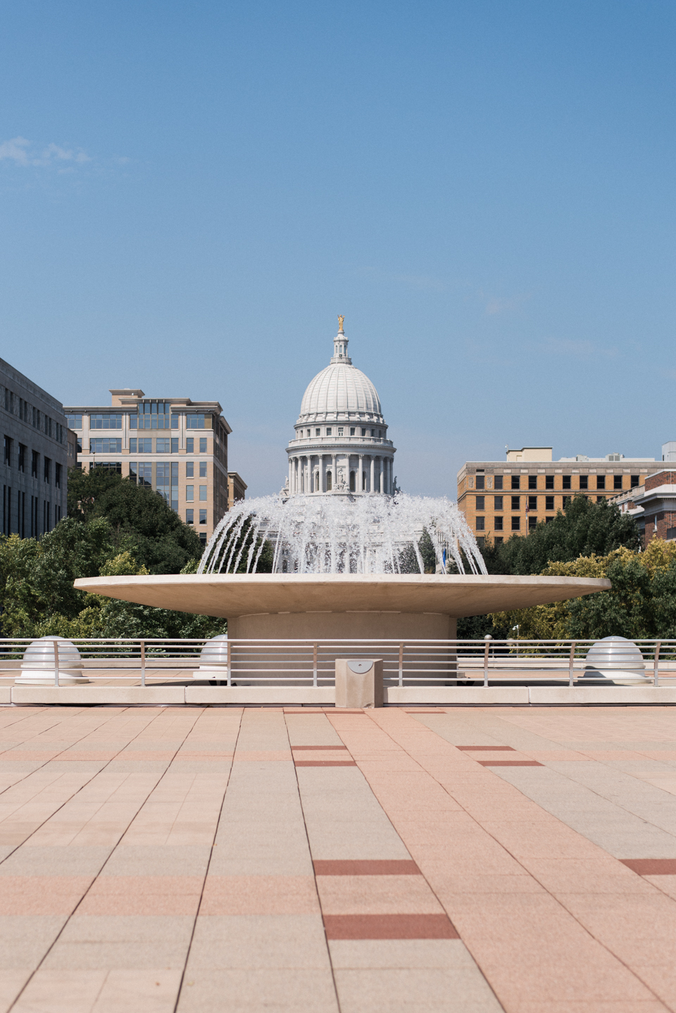 Chelsea Bliefernicht Photography | Madison, WI State Capitol from Monona Terrace