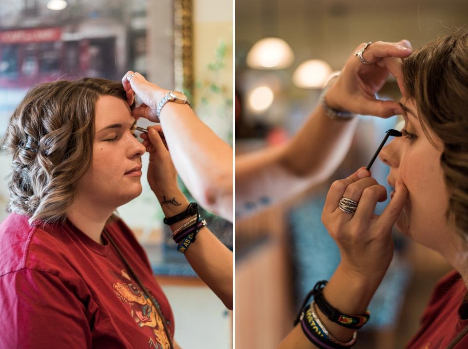 Chelsea Bliefernicht   Wisconsin Wedding Photographer   Domani Salon & Spa