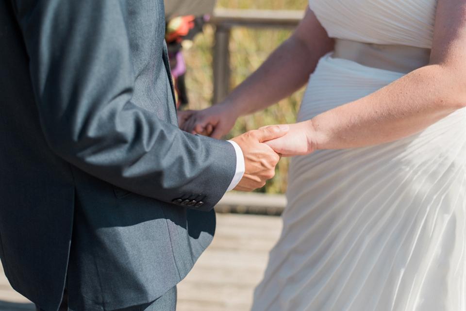 Chelsea Bliefernicht   Madison WI Wedding Photographer   Edgewood College Boardwalk Ceremony