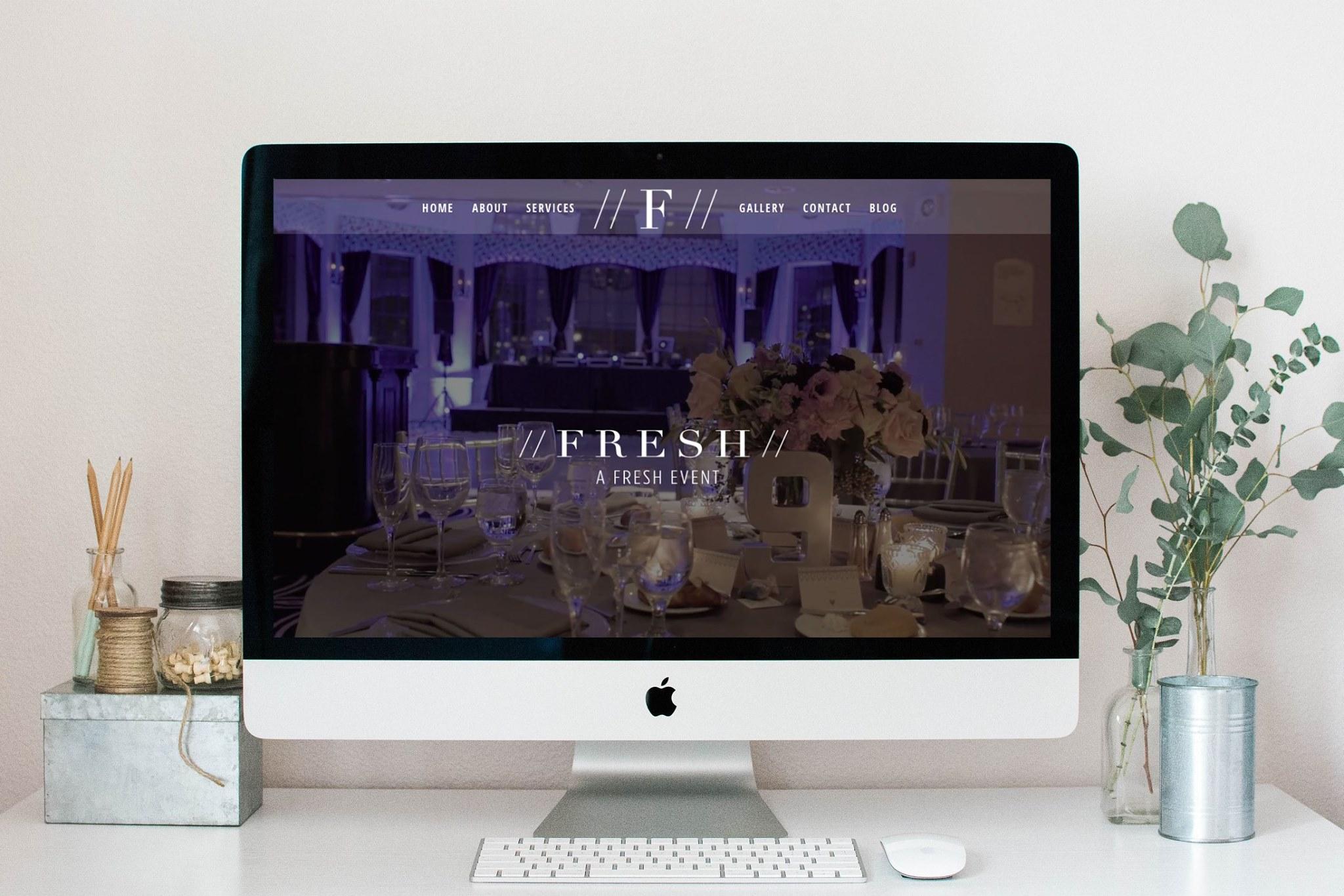 A Fresh Event Chicago Wedding Planner Website Launch