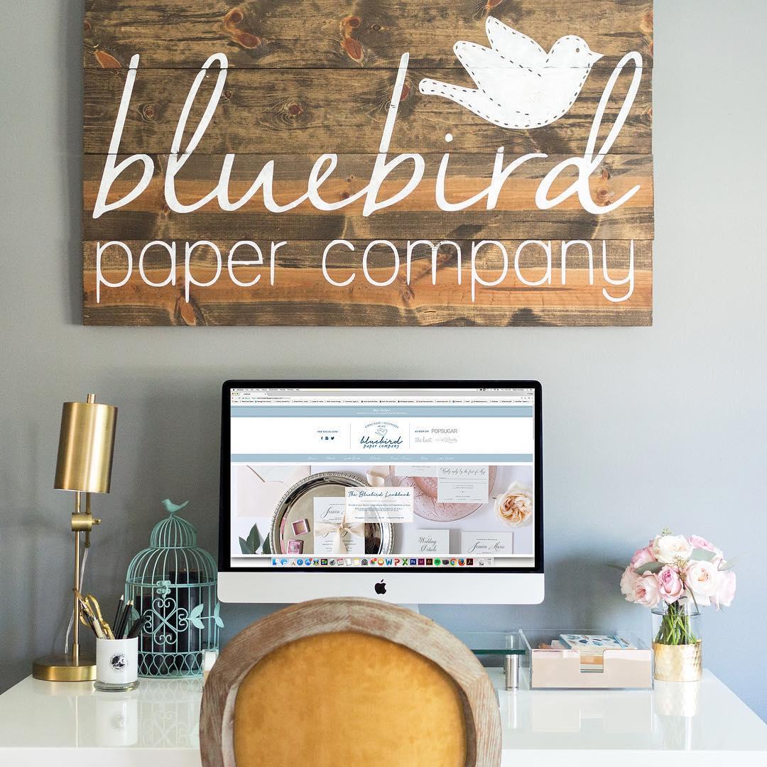 Bluebird Paper Company Website