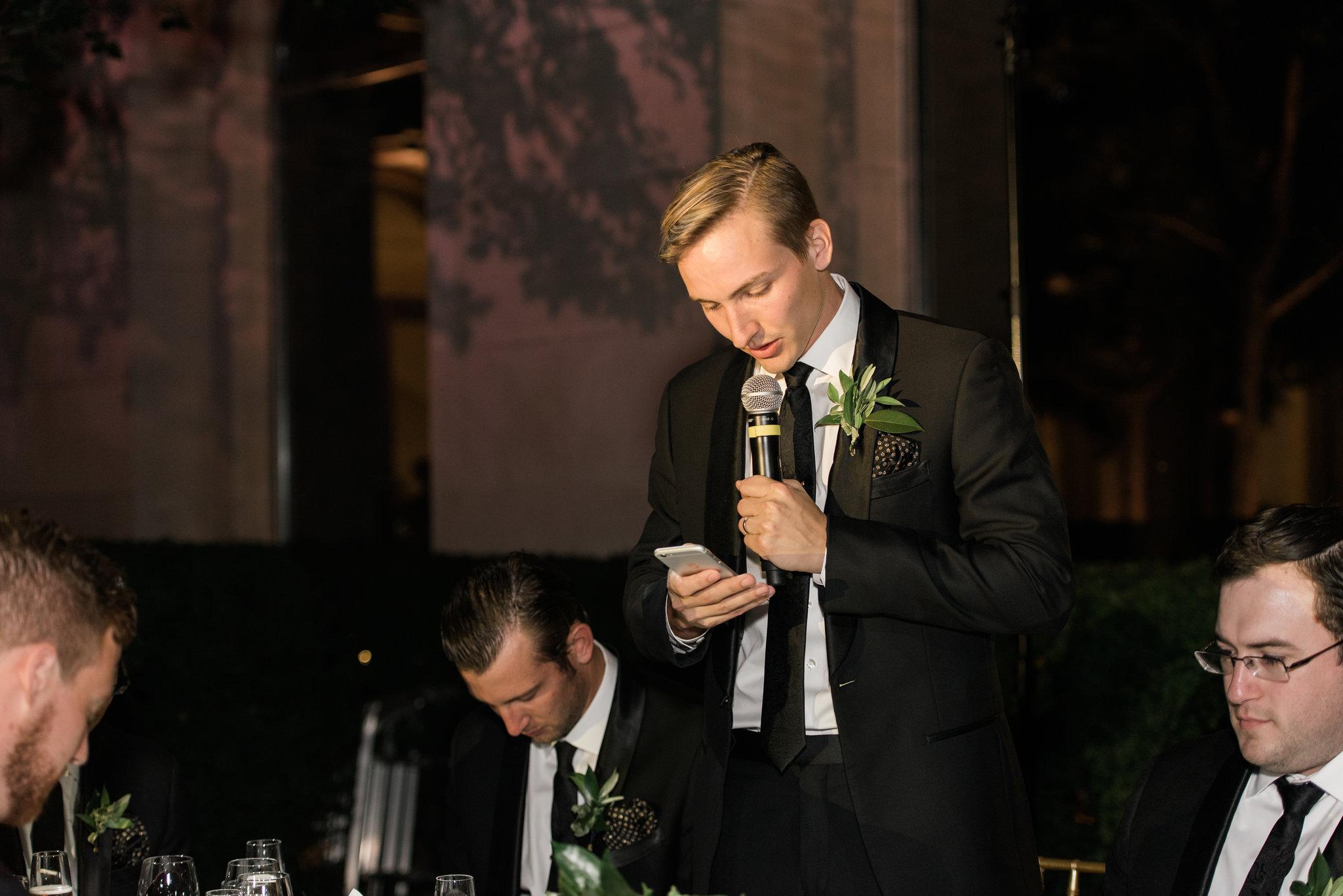 McKintock Court Reception | Art Institute of Chicago Wedding Photography | White Quill Creative