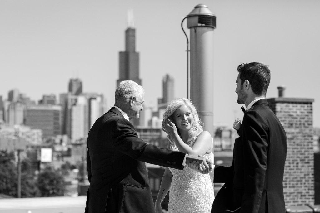 Room 1520 Rooftop Chicago Wedding