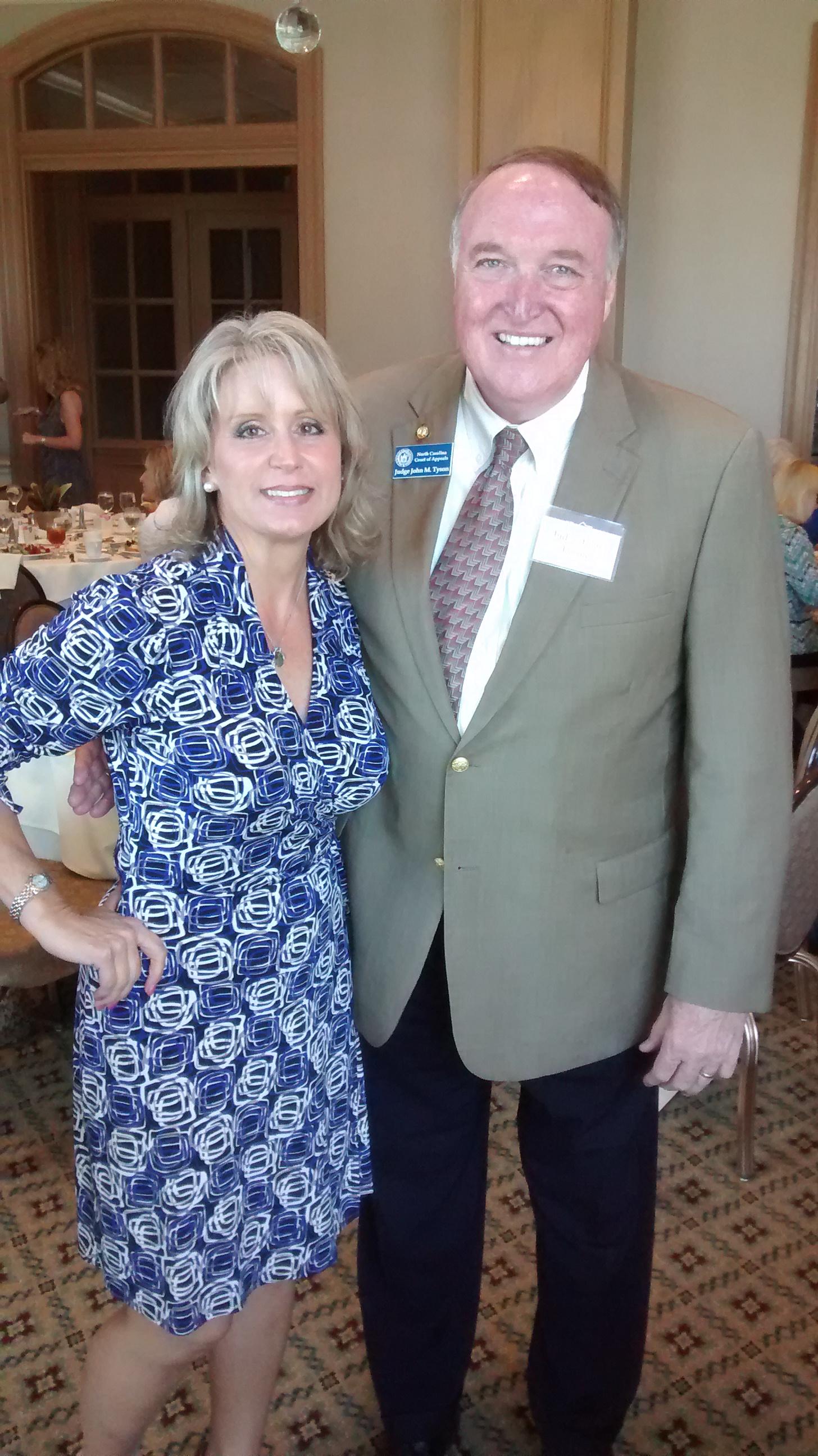 Judge Tyson and Congresswoman Renee Ellmers